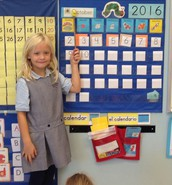 Avery leads the class in calendar time.