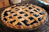 Belle's Blueberry Pie
