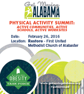 The Physical Activity Summit was hosted on February 26, 2016.