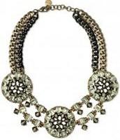 Estate bib necklace