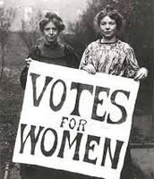 Women Protesting.