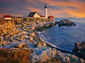 The lighthouse of Maine