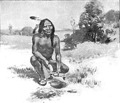 Squanto Helping the Settlers