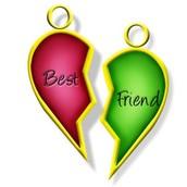 Friendship locket