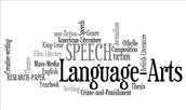Language Arts Department: