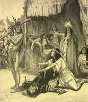Pocahontas Saving Captain John Smith