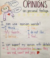 Opinions Are...
