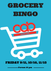 Come play Bingo with your friends and win free groceries!