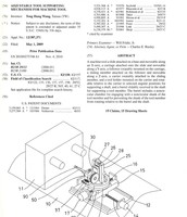 United States Patent - Adjustable Tool Supporting Mechanism