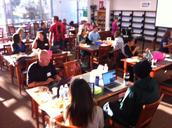 Math teachers working at Olympian High School on 10/27