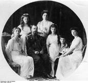 Czar Nicholas's II  family