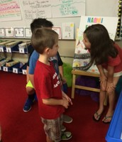 A Visit from Kindergarteners