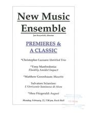 New Music Ensemble Performance