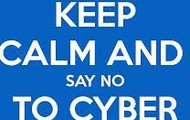 Say no to cyber bullying and keep calm.