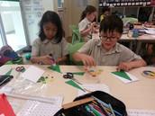G1 JWo: Writing Our Christmas Cards