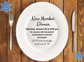 New Member Dinner