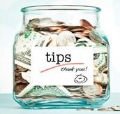 Taxes,Tips and Mark Ups