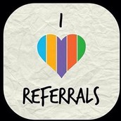 I love you, I love referrals, and I love to give away stuff!