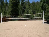 This is a volleyball court.