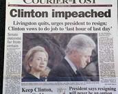 Impeachment of President Clinton
