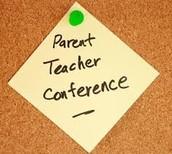 January Parent Teacher Conferences