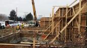 Der Rest wird spaeter mit Holz Staenderbau aufgebaut.
