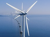 What is one innovative alternative form of wind energy?