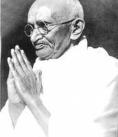 Gandhi had a very strong belief in prayer.