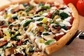 La pizza vegetariaenne