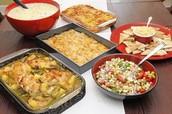 Potluck Style Food