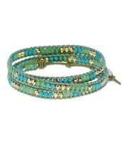 Wanderlust Triple Wrap - Turquoise - $30