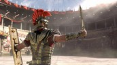 Here is a Gladiator in a Roman Colosseum