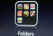 Moving apps round and creating folders