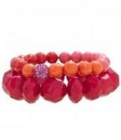 Little Girls Poppy Bracelet Set