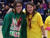 Lia and Beth:  Medalists in Mystery Powders