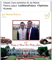 CAR EXHIBITION IN JAIMAHAL PALACE