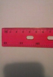 Lengths in centimeters