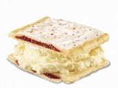 Pop Tart Ice Cream Sandwhiches