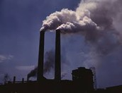 Pollution from  big company's.