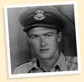 Roald Dahl when he was in the Royal Air Force
