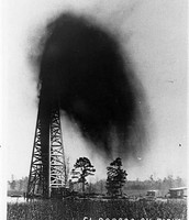 Oil well in El Dorado
