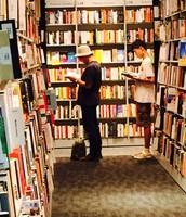 In Maruzen Bookstore, Tokyo Station