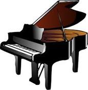Cuando tengo 80 años voy a tocar el piano.