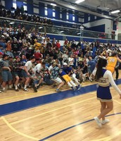 Large Crowd Cheers Vikings On To Victory