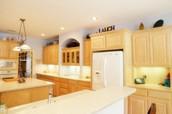 terrific kitchen with massive island