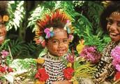 Kids in Papua New Guinea