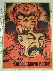 The Satan removing his make.......