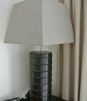 Leather base Lamp