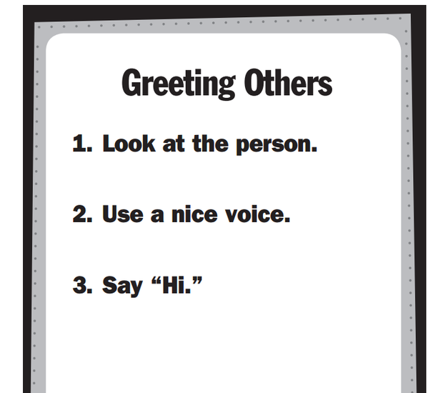 Boys town skill of the week smore newsletters greeting others is a skill that while positive and helpful is not often seen as a critical classroom management skill so it can be overlooked m4hsunfo