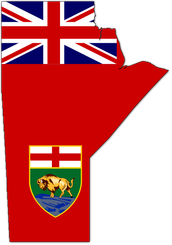 he was part of the creation of the province of Manitoba